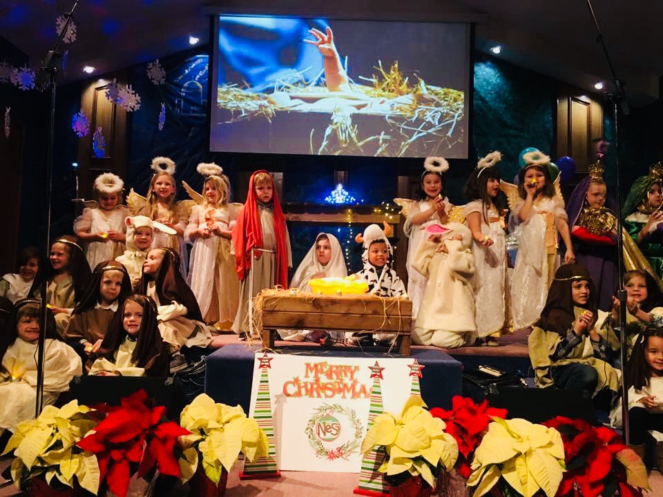 Telling the sweetest story of Jesus birth.
