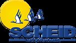 logotipo scheid motorhomes. logomarca da fabrica de motorhomes scheid