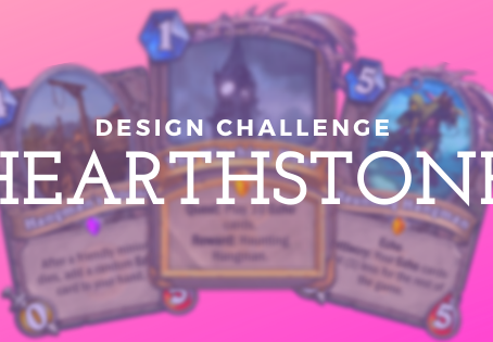 Design Challenge || Hearthstone Cards
