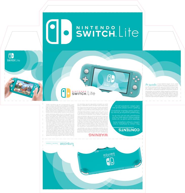 Switch Lite Box Design