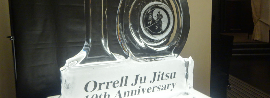 10yr Anniversary Ice Sculpture