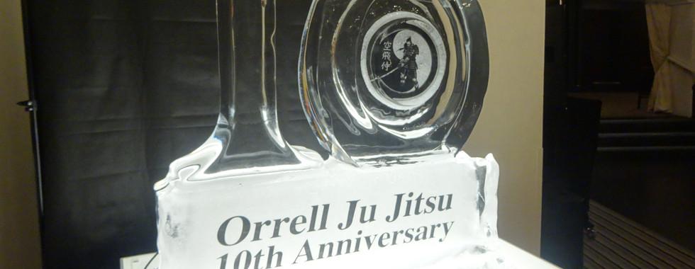 10yr Anniversary Ice Sculpture