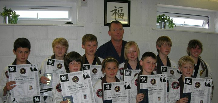 OJJ's 1st Junior Black Belts