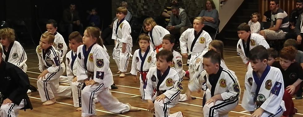 OJJ Students at a Kobudo Course