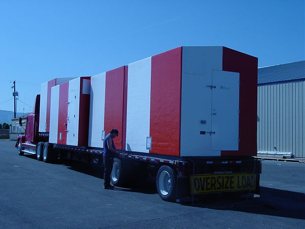 FAA Shelters on the Truck.JPG