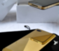gold plated phones