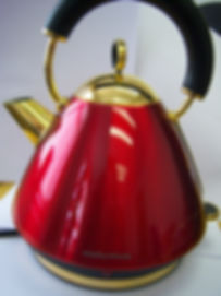 gold plated kettle