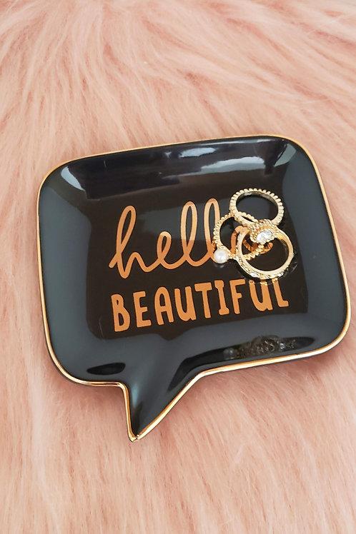"Porta Bijoux ""Hello Beautiful"""