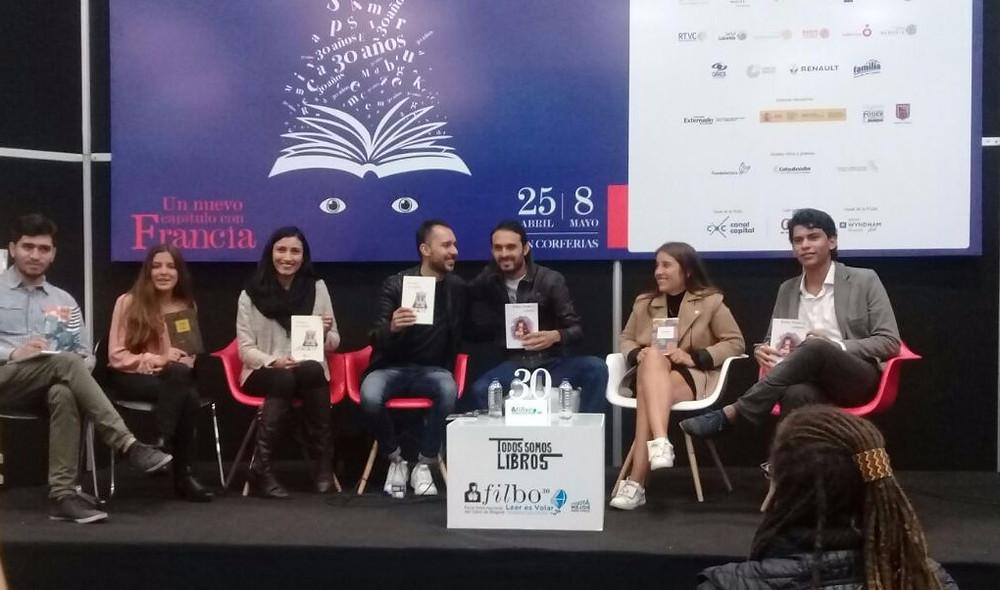 Presentación proyectos editoriales // Feria del libro, Bogotá // Ana Gabriela Rivera Díaz