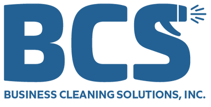 BCS's logo. Large letters: B C and S with the S stylized to look like a spray bottle
