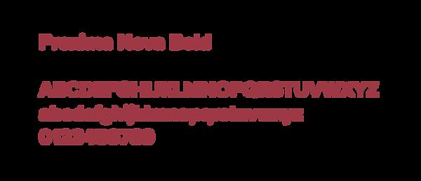Example of Proxima Nova typeface