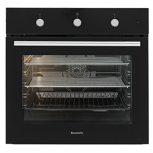 Baumatic 60cm Oven Black