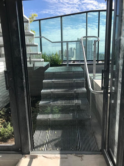 Design Arquitetônico - Escada Metálica Vazada