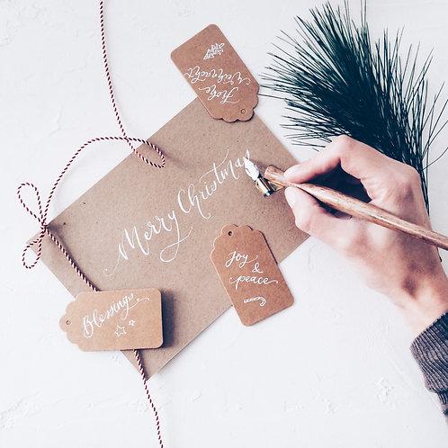 Fine Lettering Christmas Blast - Montag, 23.11.2020, 18:30-21:30h