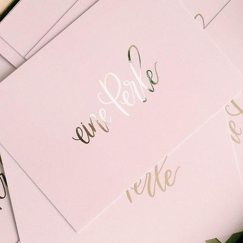 «eine Perle» Fine Postcards  (10 Stk.) - b2b