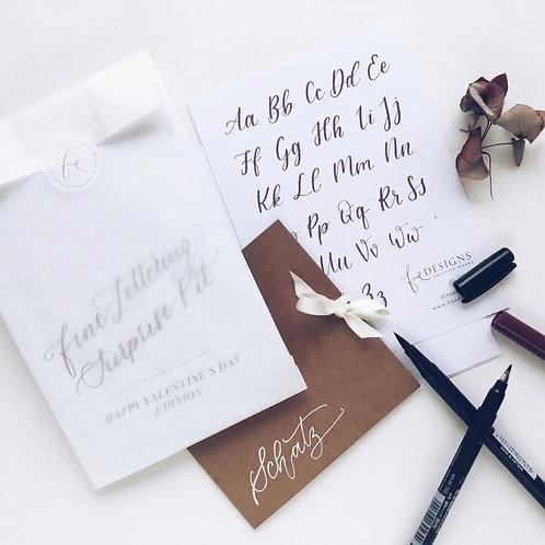 Happy Valentine's Day Lettering Surprise-Kit