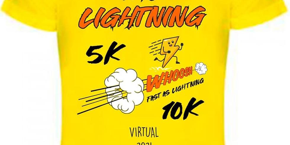 Virtual Lightning  5k or 10k