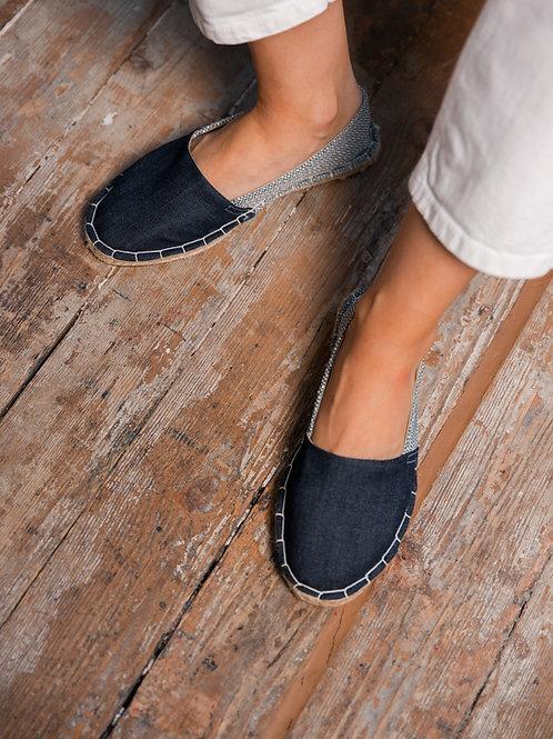 Classic Espadrilles DIY Kit Blue Jeans Women