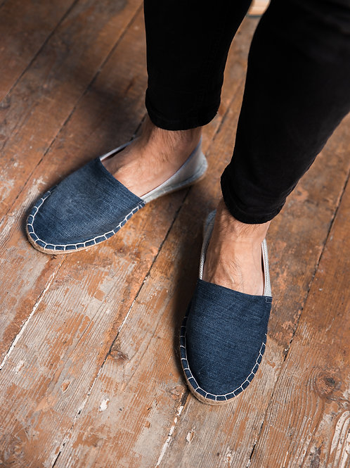 Classic Espadrilles DIY Kit Blue Jeans Men