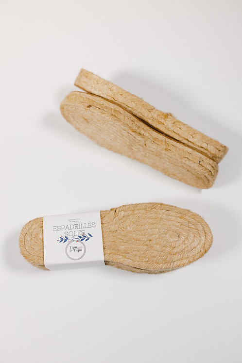 Espadrille Soles For Women 3CM/1.2IN Thickness