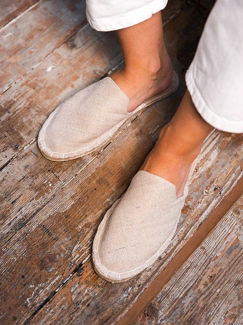 Beige Loafers Espadrilles Women