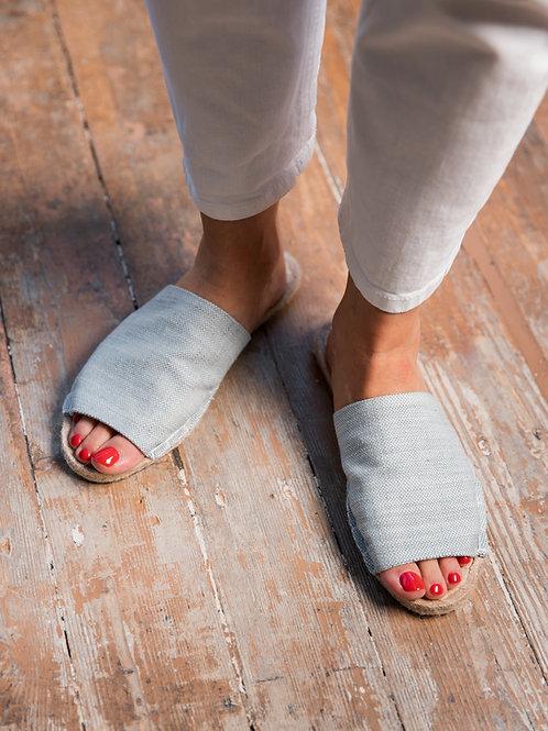 Blue Slippers Espadrilles Women