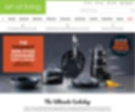 Magento Website Client - art of living