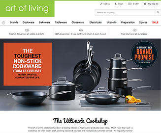 Magento Website Client - art of living