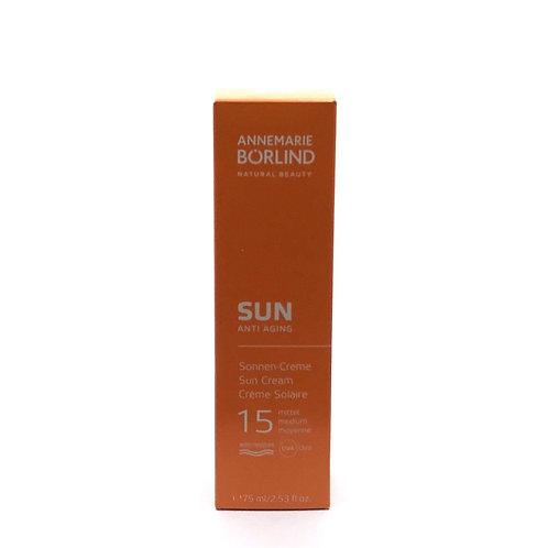 Crème solaire 15