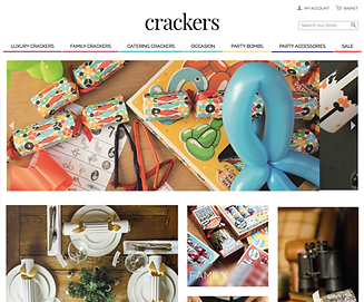 Magento Website Client - CRACKERS