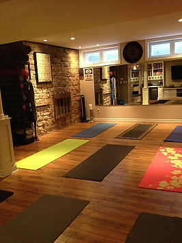 small Yoga & Pilates classes