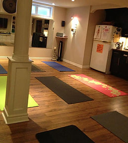 Upscale fitness studio small Yoga & Pilates classes