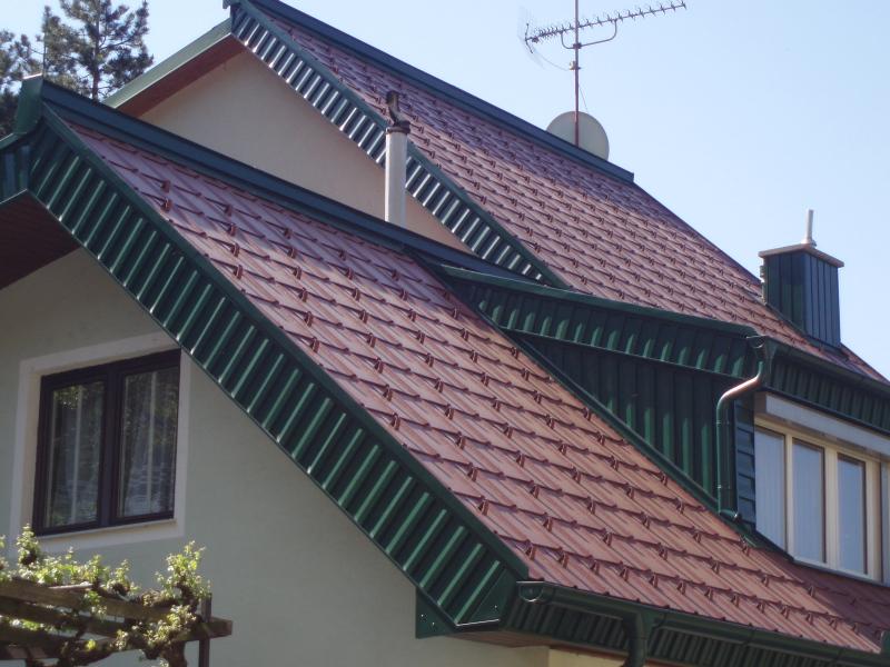 Prefa-Dachdeckung