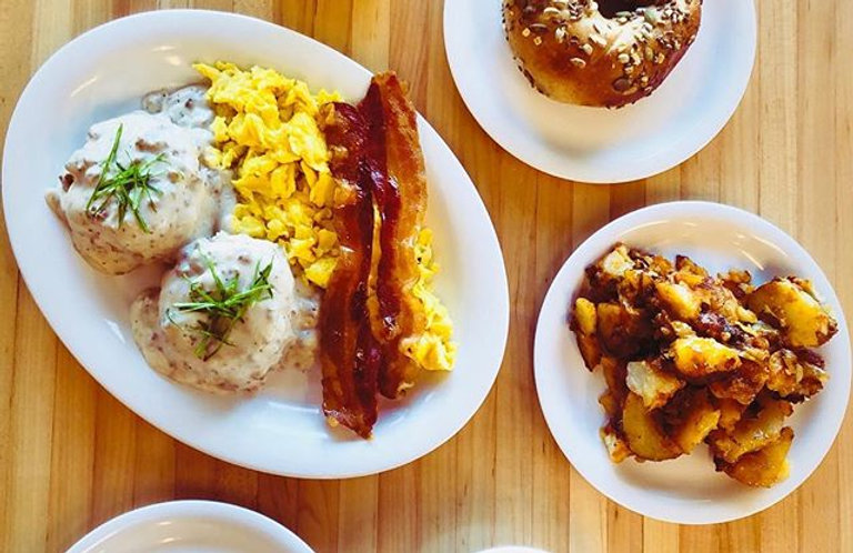 It's the weekend! Come enjoy breakfast w