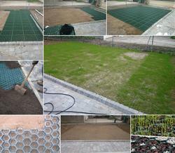Stabilisation du sol avec des dalles ever-green