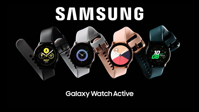 Samsung Galaxy Watch Active Commercial