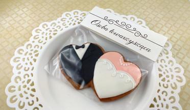 Pierniczki, upominki dla gości na ślub, wesele, winietki i prezenciki