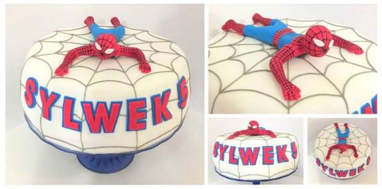 Tort urodzinowy Spider-man