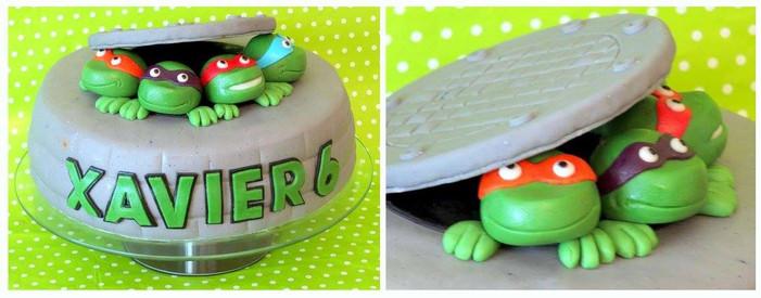 Tort dla chłopca z Żółwiami Ninja