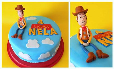 Tort z Chudym z bajki Toy Story