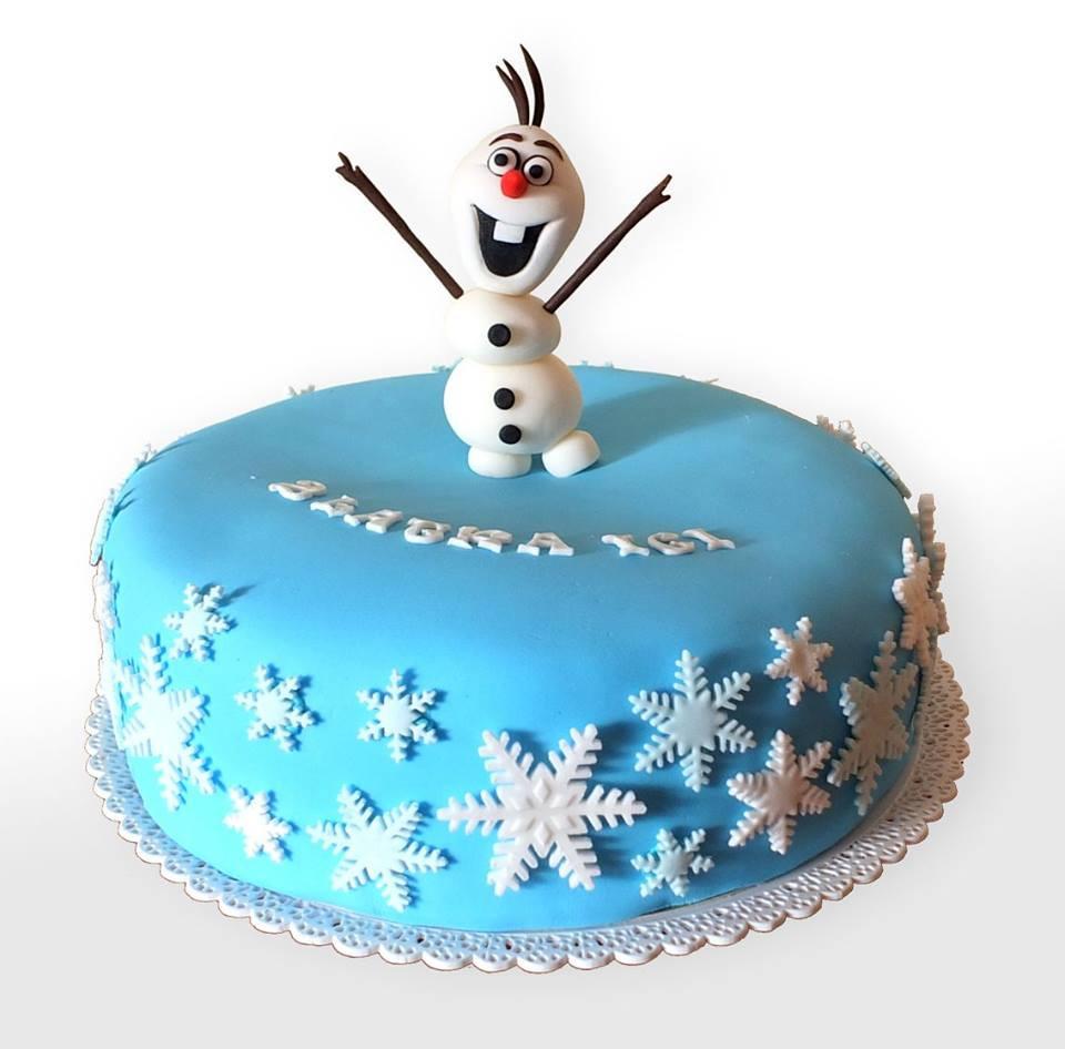 Tort Kraina Lodu - Olaf