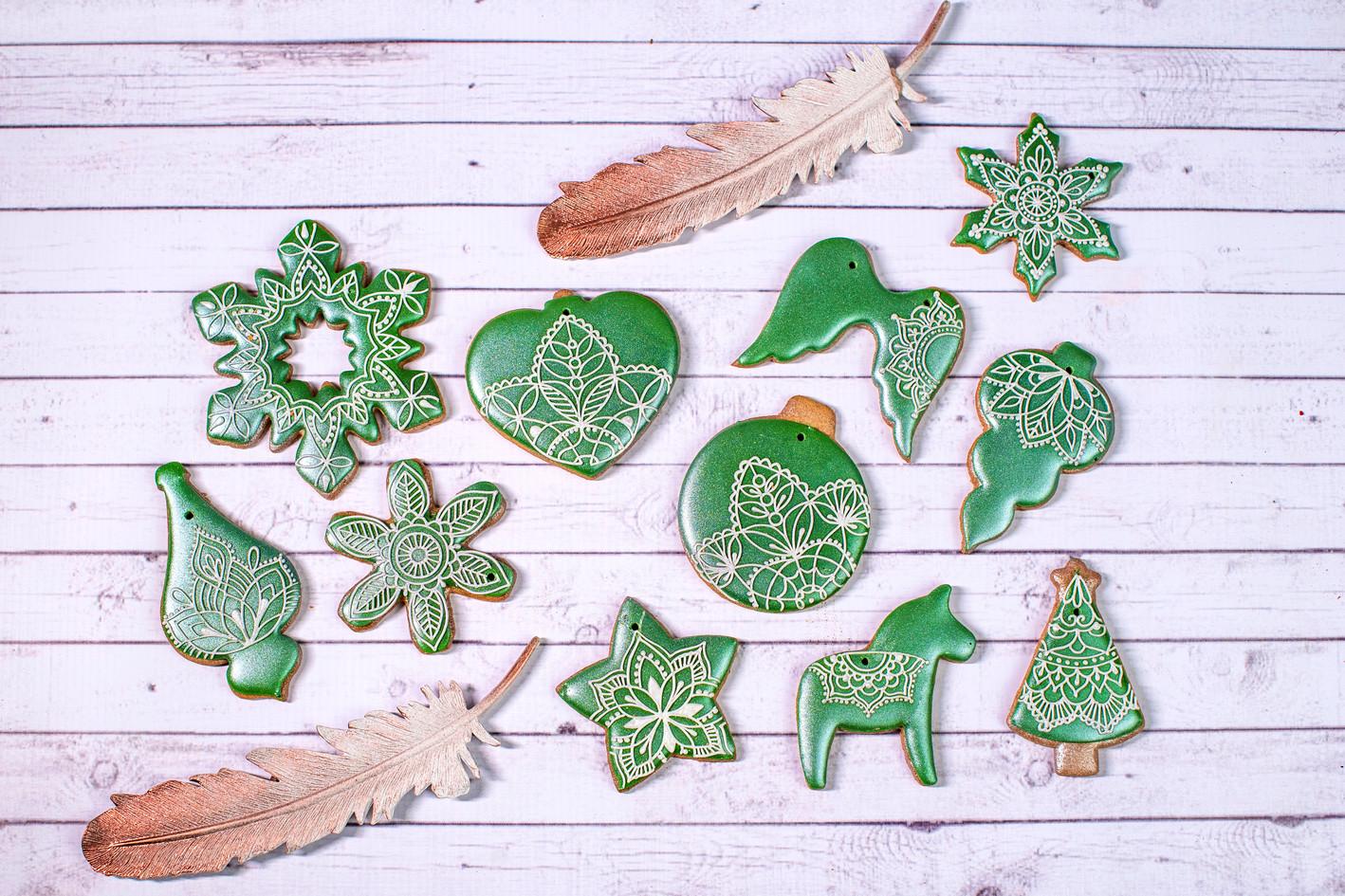 Kolekcja - Zimowa mandala