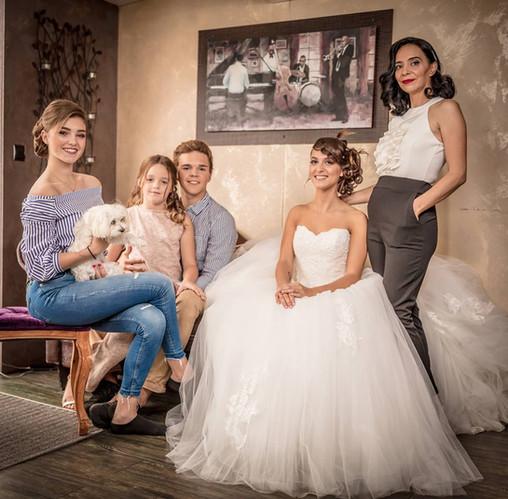 Mise en beauté de la mariée et ses proches par D&Z Agency