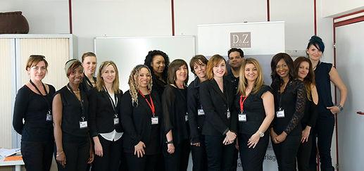equipe D&Z Agency - Coiffure, maquillage, mise en beauté de la mariée - à domicile - Paris et IDF