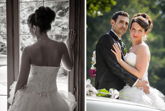 Coiffure et maquillage mariée