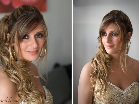 Prestation coiffure et maquillage soirée du 26 mai