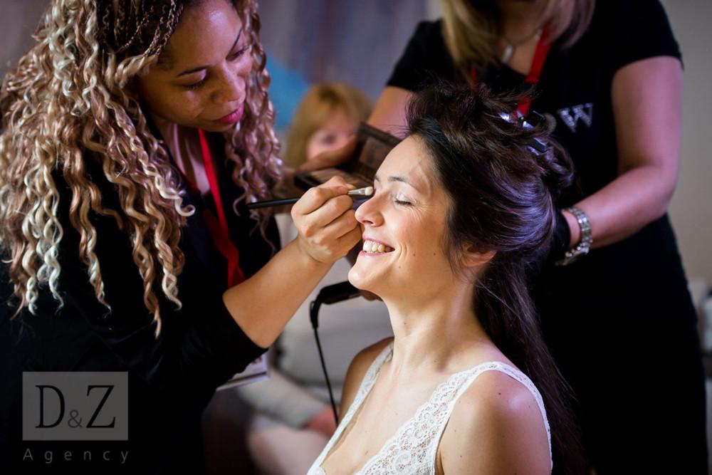 Forfait coiffure et maquillage mariée D&Z Agency