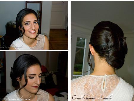Céline, notre jolie mariée du 8 février !