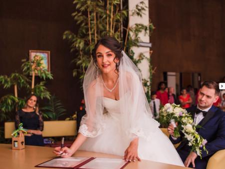 Remerciement d'Elodie, mariée le 6 juillet 2019