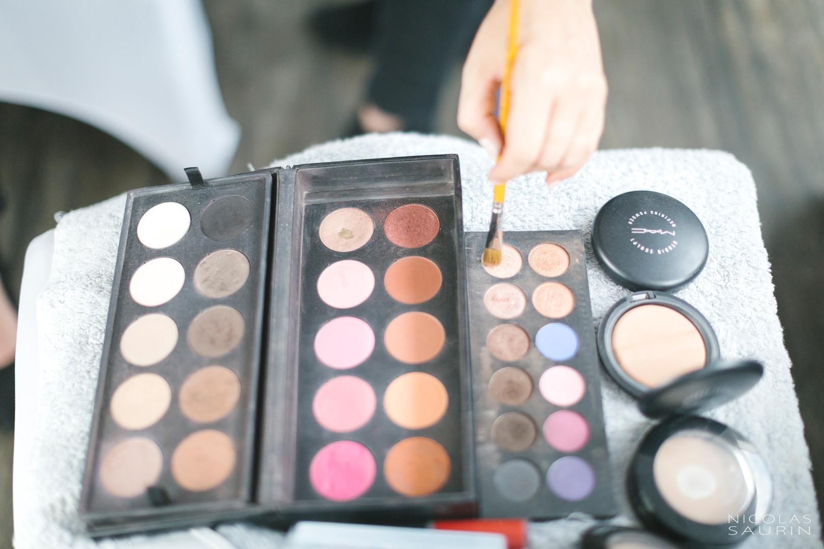 Maquillage Mac et Make up forever